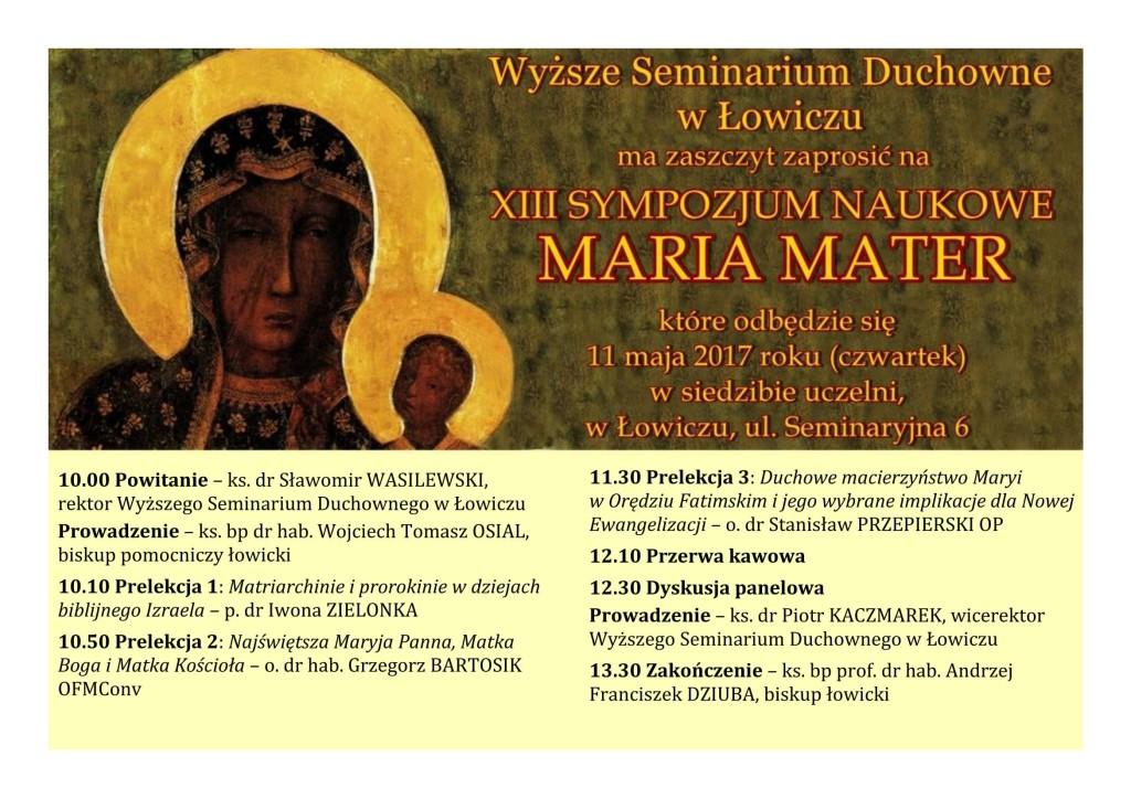 MARIA MATER-1